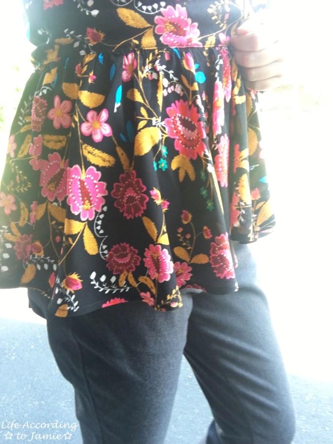Floral Babydoll Cami + Lace Bodysuit 2