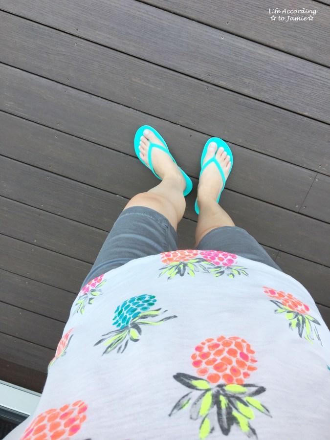 Neon Pineapple Tee 8