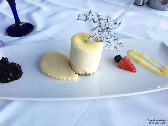 The Watermark Restaurant - Meyer Lemon Mousse