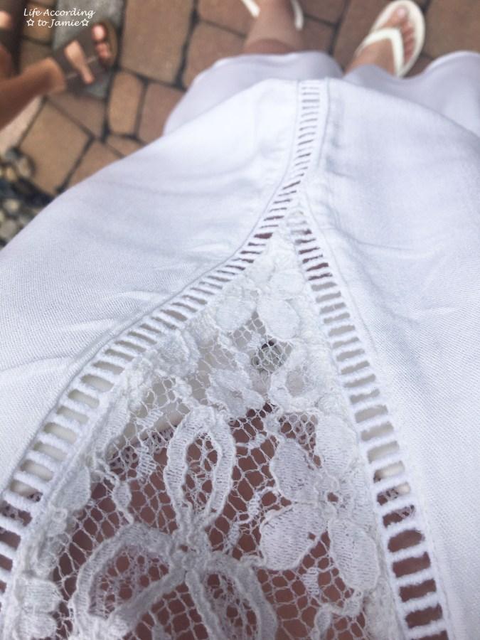 White Lace Romper 4