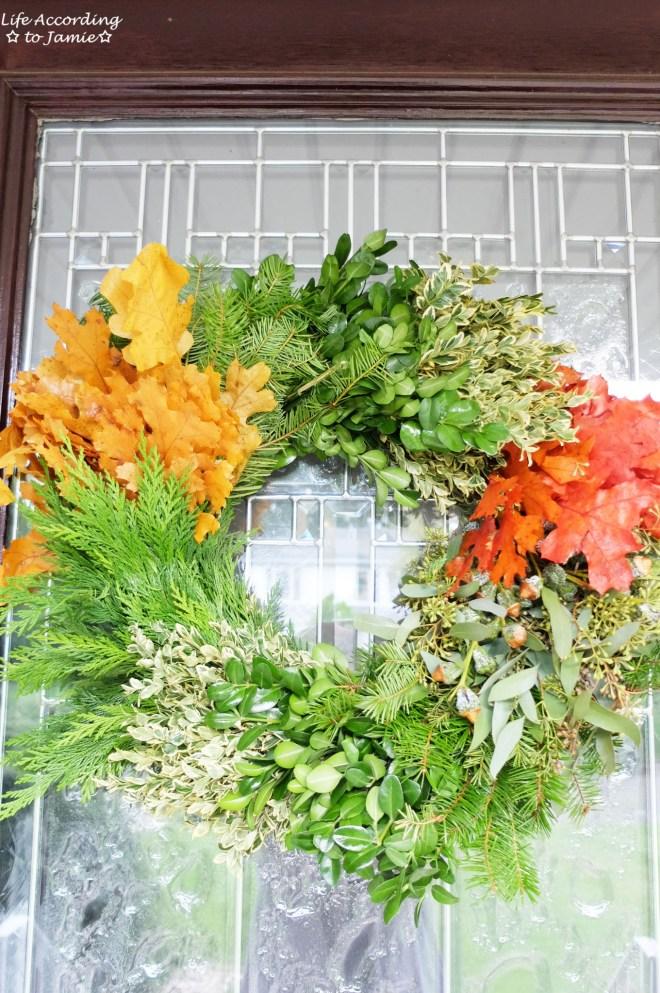 Celebrate Fall Wreath 3