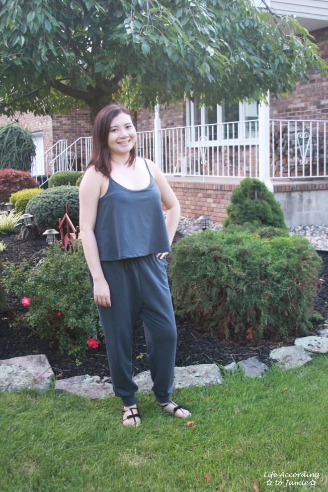 Grey Cami Jumpsuit 1