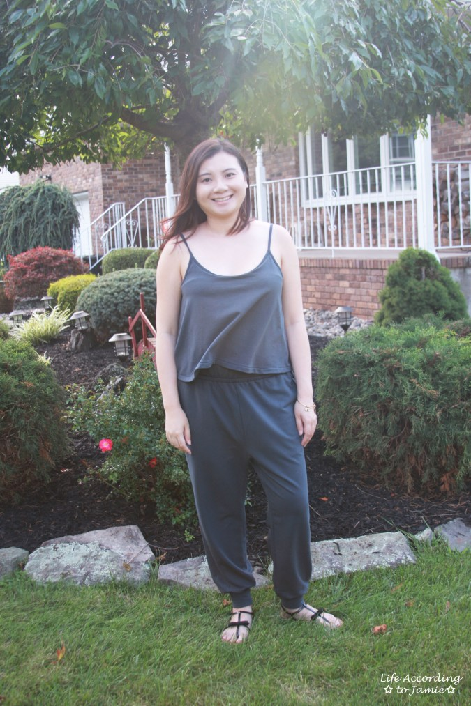 Grey Cami Jumpsuit 3