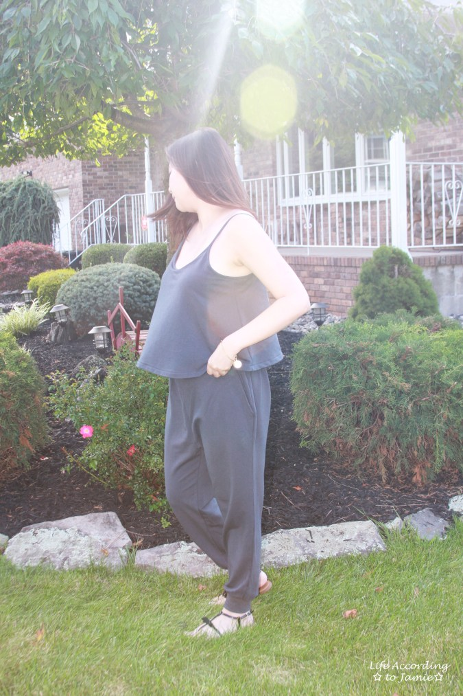 Grey Cami Jumpsuit 5