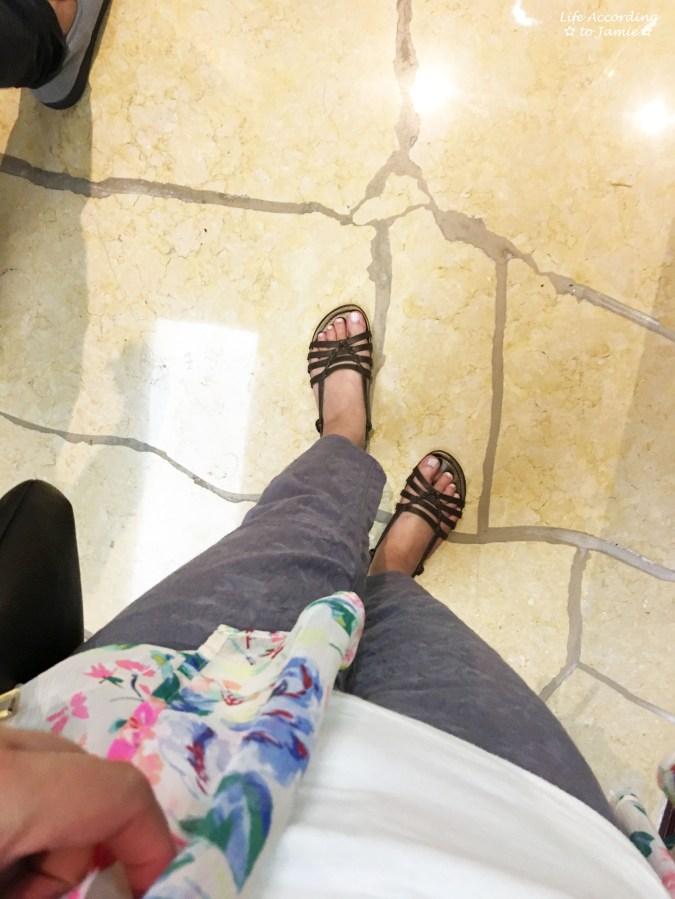Jacquard Crop Pants + Floral Kimono 6