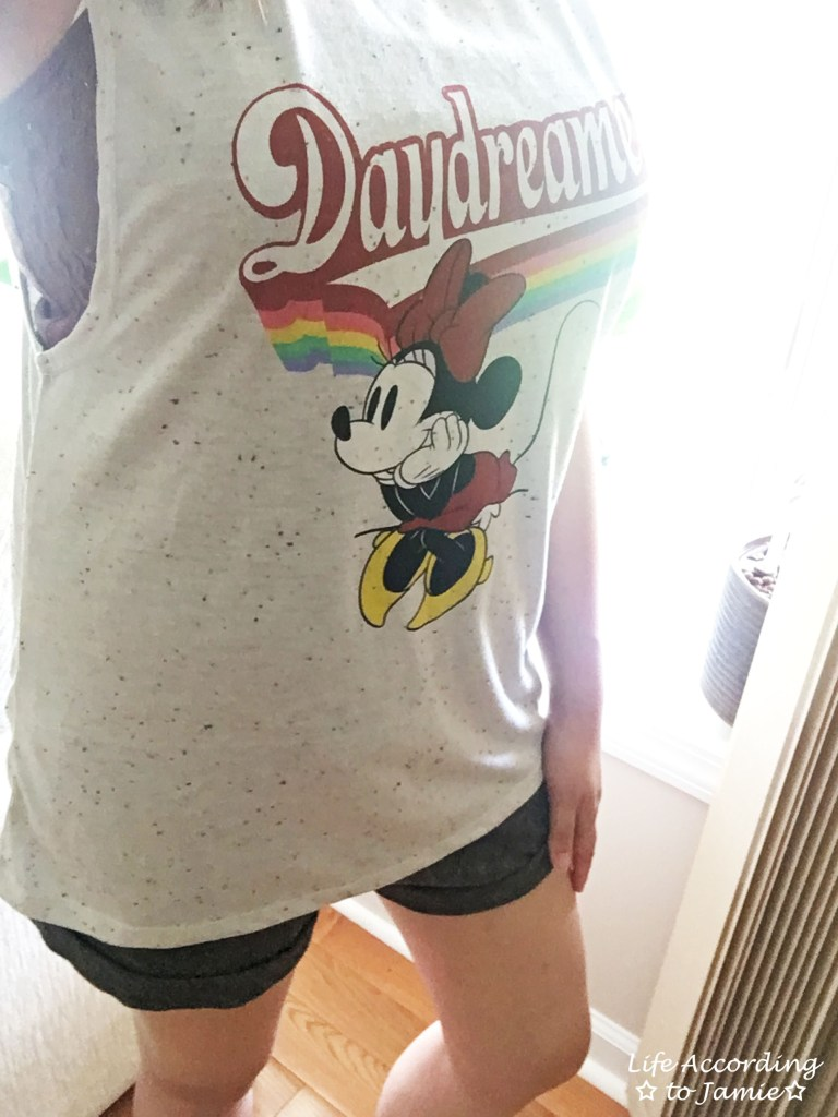 Minnie Mouse Daydreamer Muscle Tank