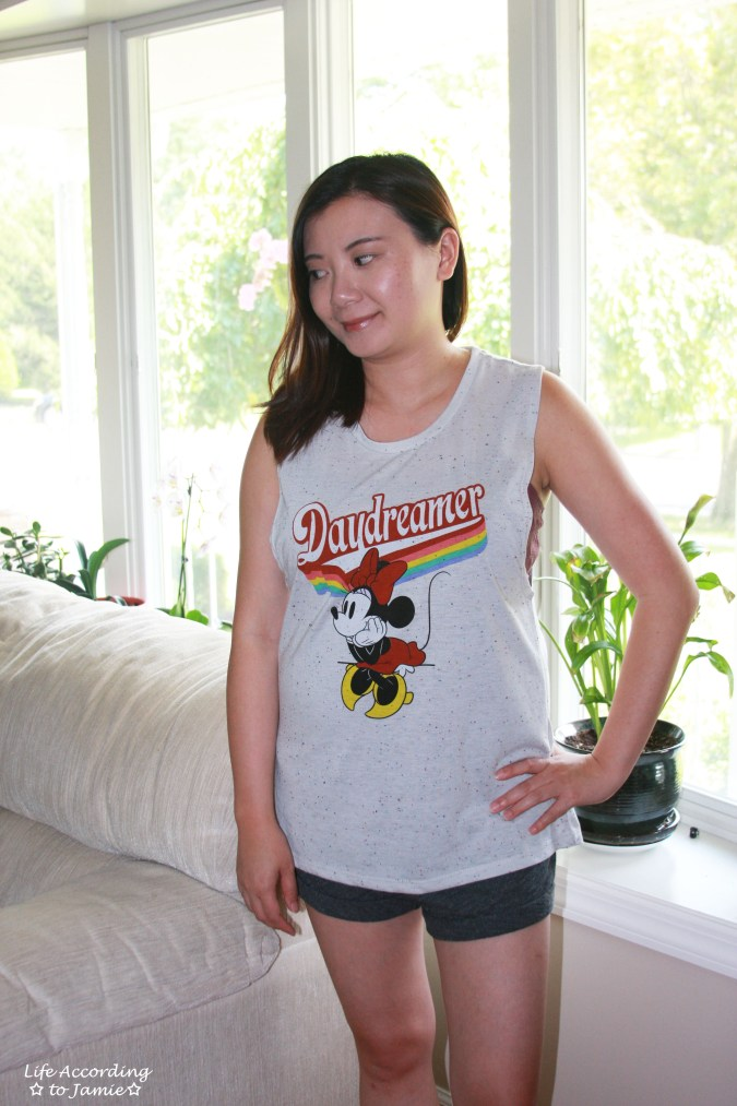 Minnie Mouse Daydreamer - Muscle Tank 8