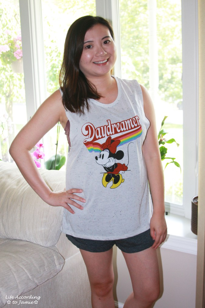 Minnie Mouse Daydreamer - Muscle Tank 9
