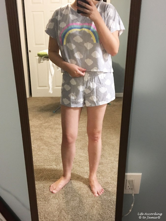 Rainbow + Clouds Pajamas