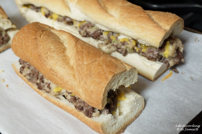 Stuffed French Bread 2