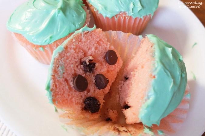 Watermelon Cupcakes 2
