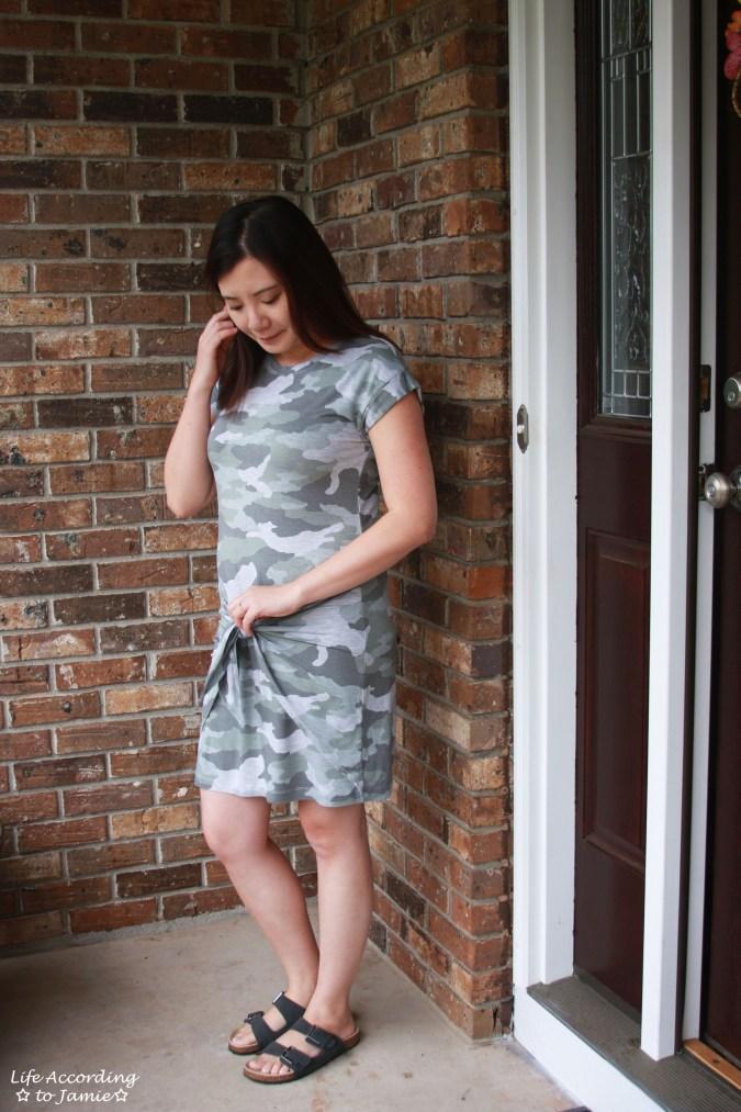Camo Twist Dress 2