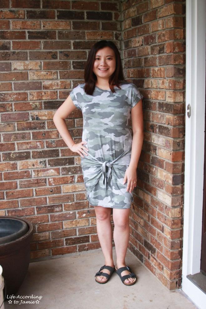 Camo Twist Dress 3