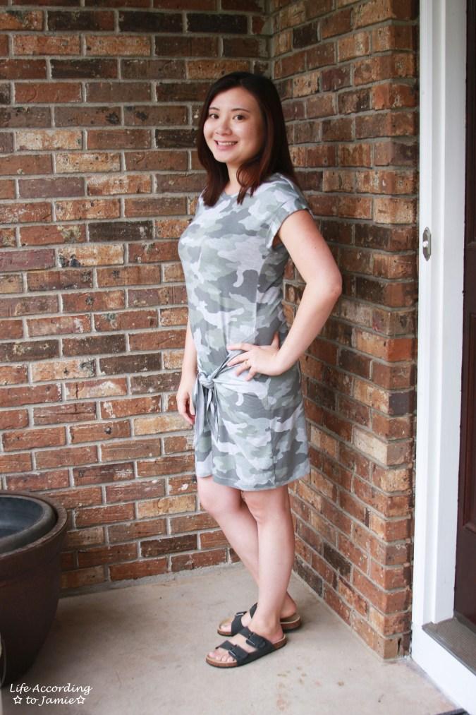 Camo Twist Dress 5