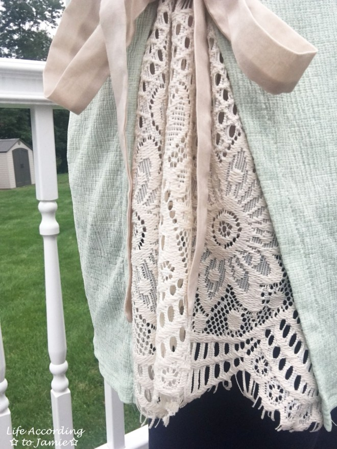 Side Lace + Bow Tunic 2