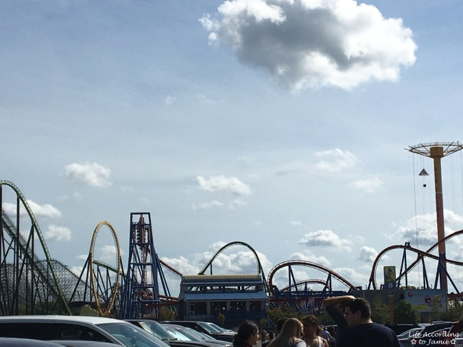 Six Flags Great Adventure - roller coasters