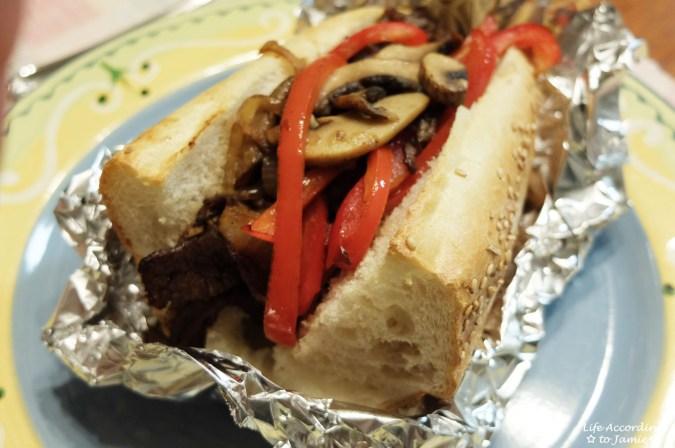 Steak Sandwich 3