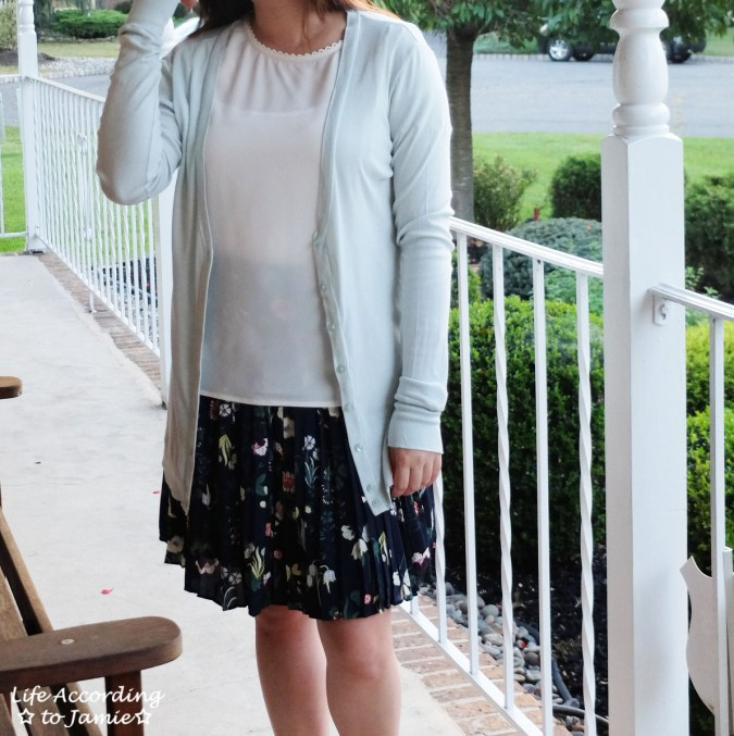 Valley Floral Pleated Skirt 6