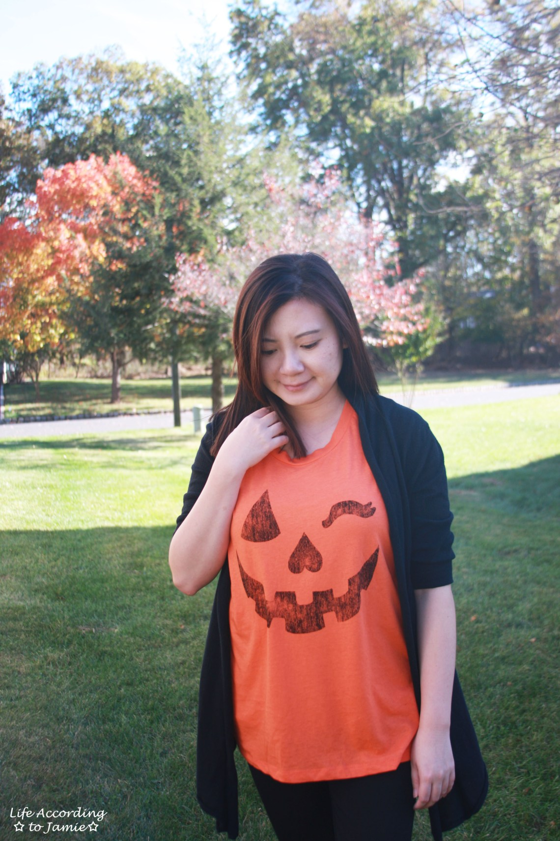 Winking Pumpkin Top