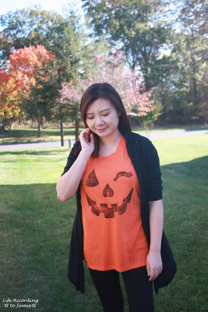 Winking Pumpkin Top