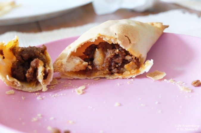 Ground Beef + Potato Empanada 6