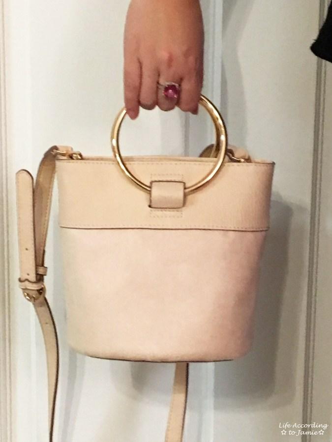 Mini Bucket Ring Bag