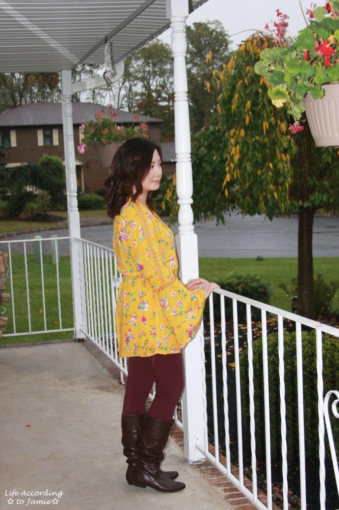 Mustard Floral Romper 15