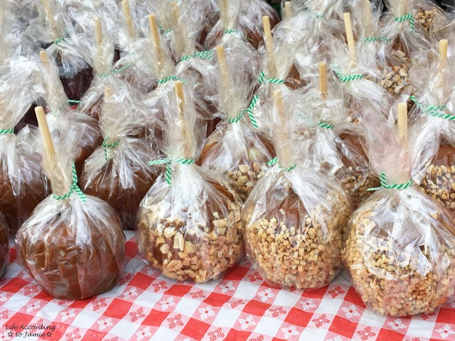 Peddler's Village - Apple Festival Caramel Apples 1