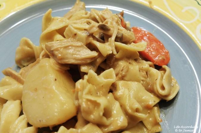 Chicken Noodle Casserole 8