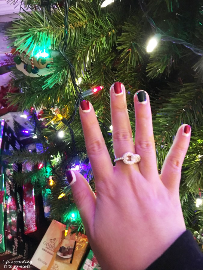 Christmas Ruffian nails
