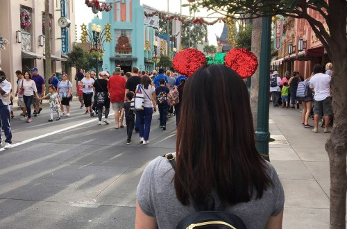 Disney Hollywood Studios - Christmas Minnie Mouse Ears