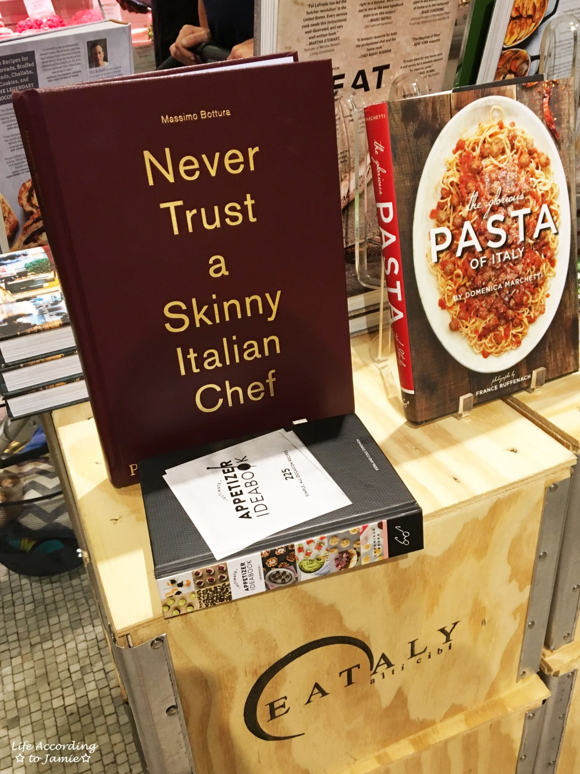 Never Trust a Skinny Italian Chef