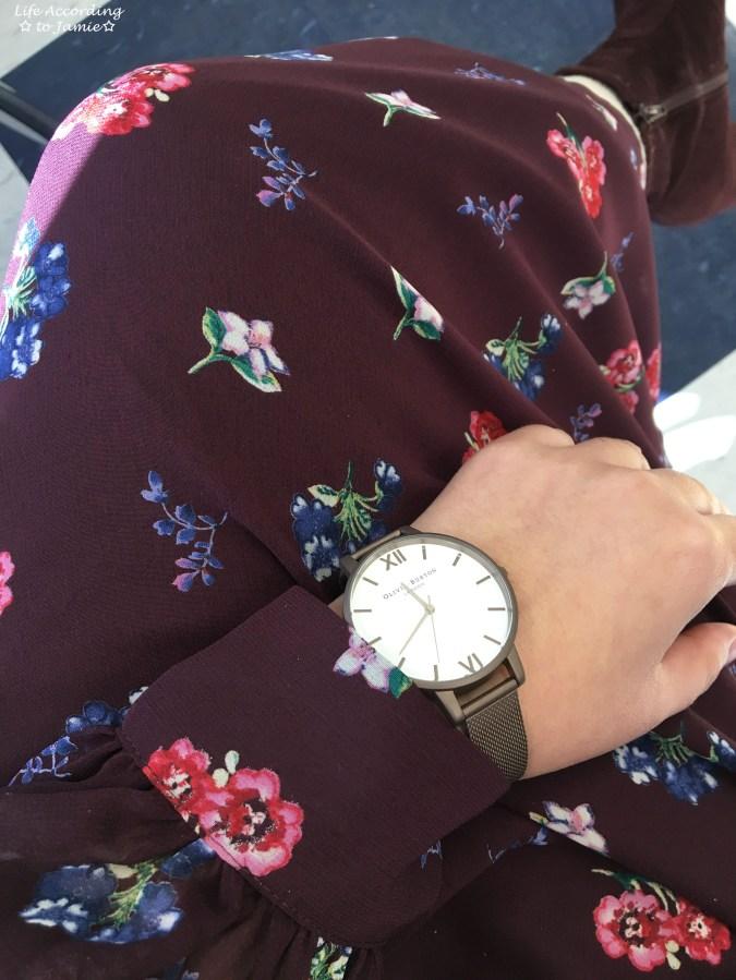 Floral Smocked Waist Midi Dress 3