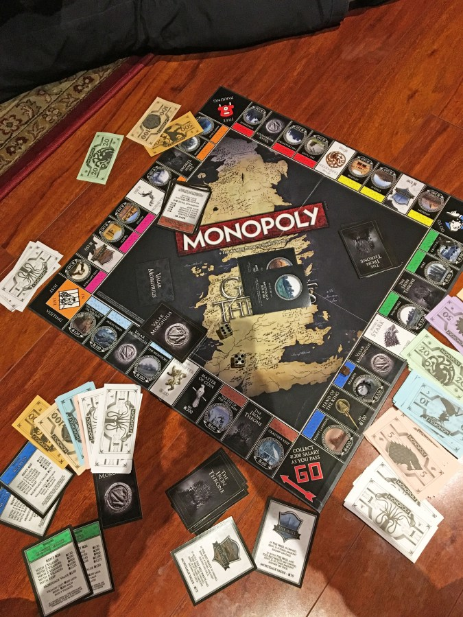 Game of Thrones Monopoly 7