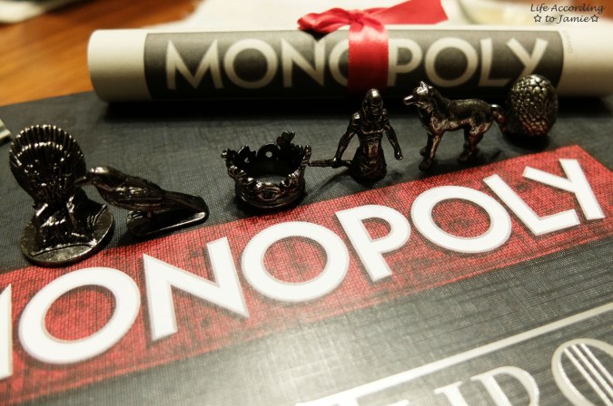 Game of Thrones Monopoly - Playing Pieces 1