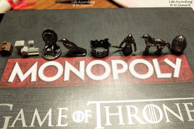 Game of Thrones Monopoly - Playing Pieces