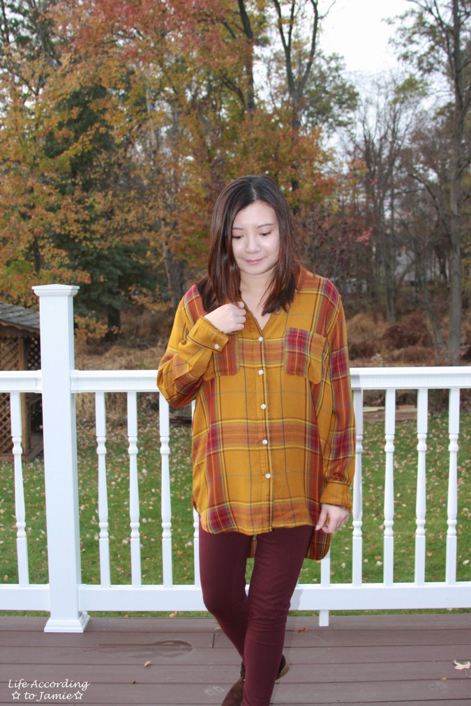 Mustard Plaid Tunic 11