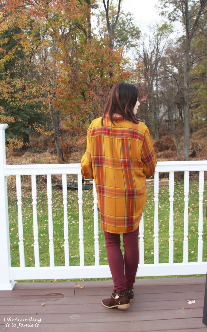 Mustard Plaid Tunic 8