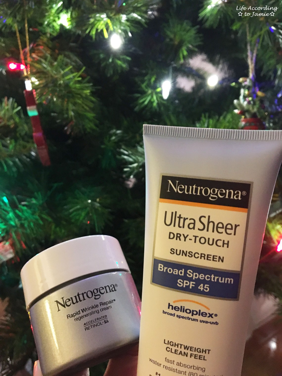 Neutrogena - Rapid Wrinkle Repair + Ultra Sheer Dry Touch Sunscreen