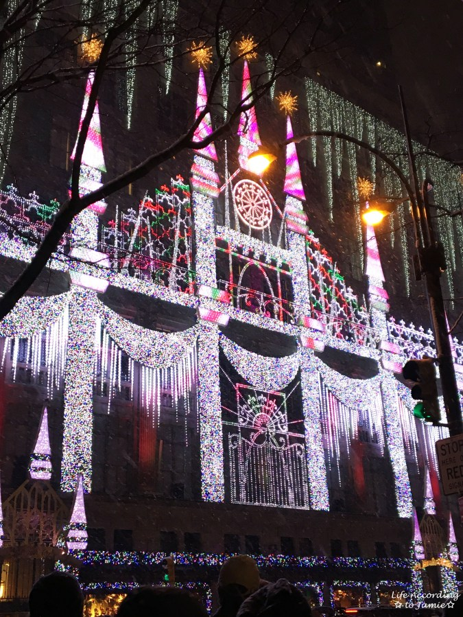Saks Fifth Avenue - Christmas Light Show 1