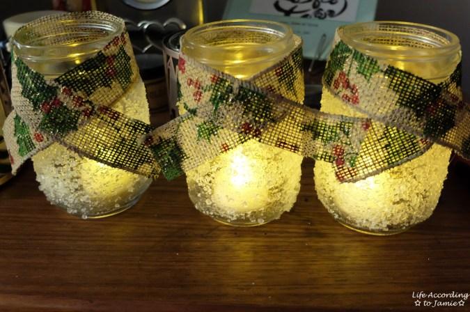 Snowy Mason Jar 4