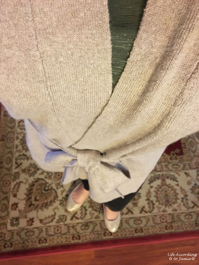 Taupe Sand Belted Cardigan 3