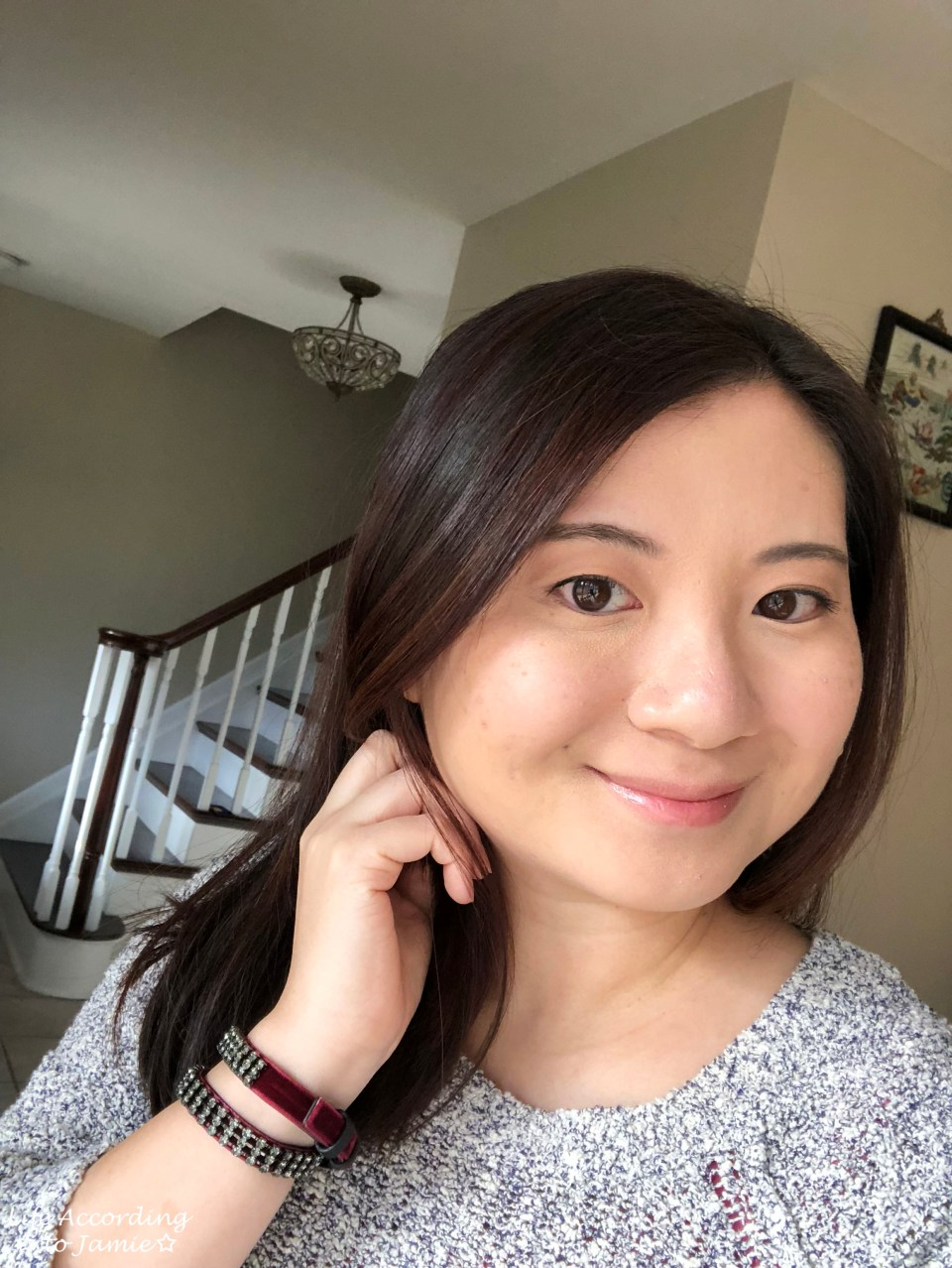 Becca x Chrissy - Glow Face Palette selfie 1
