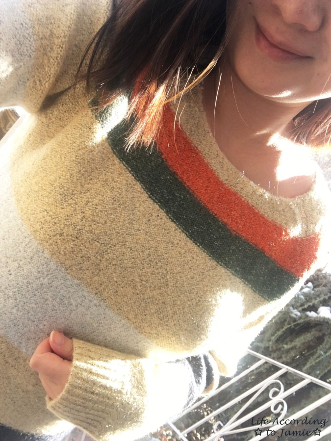 Block Stripe Sweater 12
