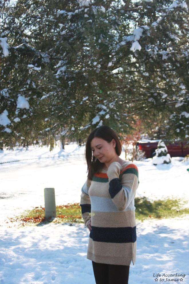 Block Stripe Sweater 2