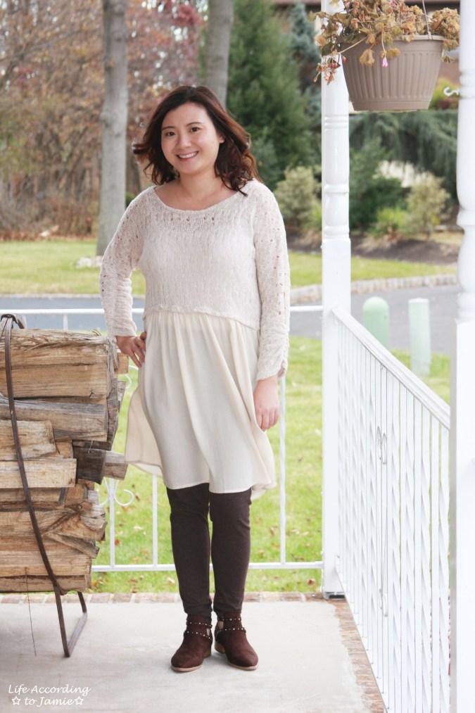 Crochet Top Dress 4