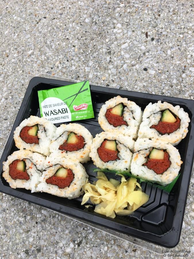 Epcot - Japanese Food