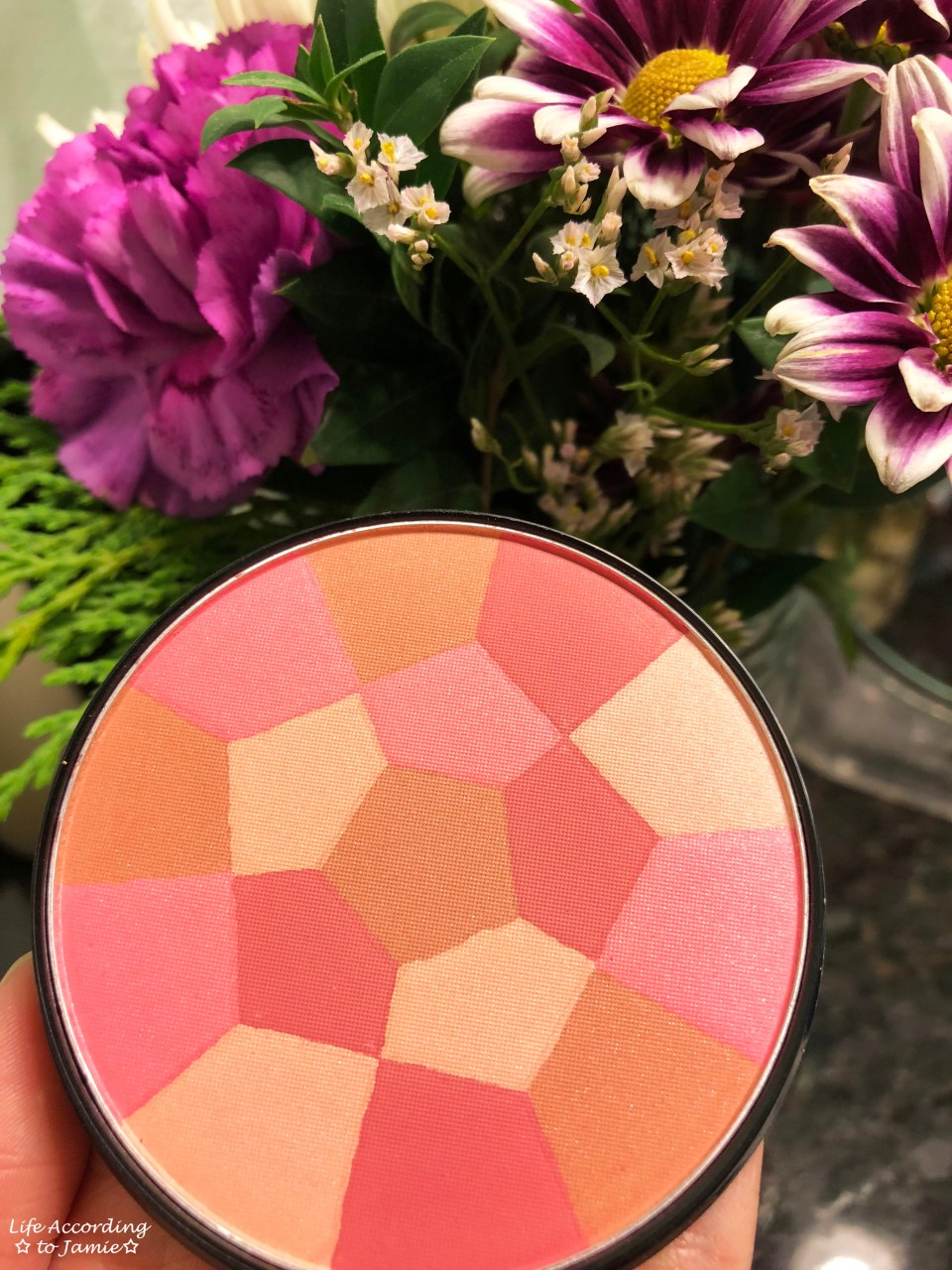 NYC Color Wheel Mosaic Powder - Pink Cheek Glow