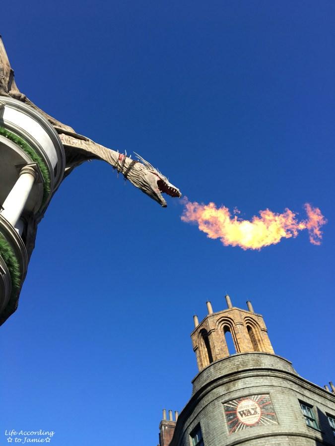 Universal Studios Orlando - Wizarding World of Harry Potter - Dragon
