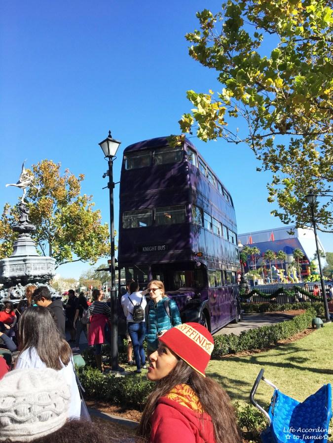 Universal Studios Orlando - Wizarding World of Harry Potter - Knight Bus